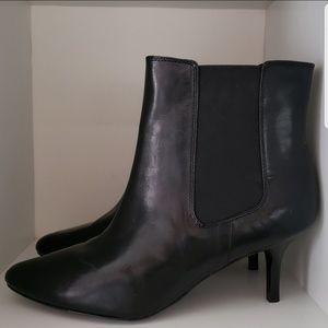 LAUREN Ralph Lauren Black Nathalie Heeled Boot 9